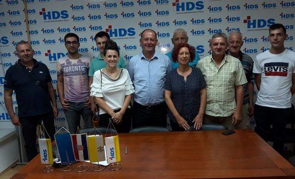 Sjednica predsjedništva HDS-a Splitsko-dalmatinske županije