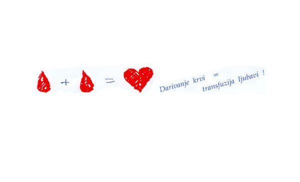 Čestitka povodom dana dobrovoljnih darivatelja krvi