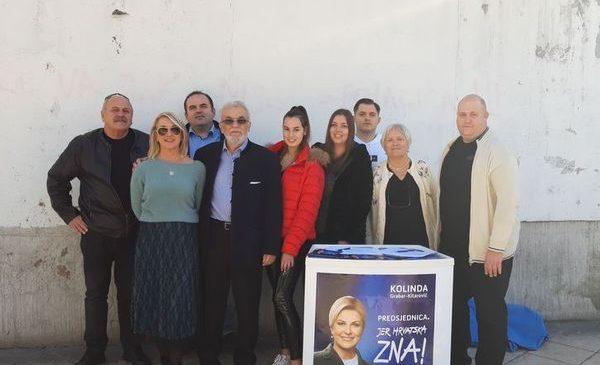 Županijski i Splitski HDS izrazili podršku kandidaturi Kolindi Grabar Kitarović