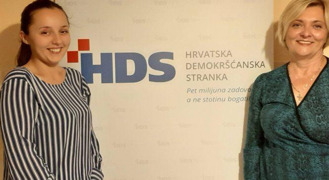 Još jedna žena na čelu ogranka HDS-a