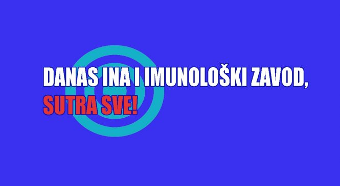 Podrška prosvjedima radnika INA-e i Imunološkog zavoda