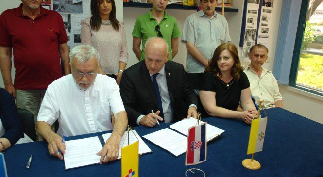 U Splitu potpisan Sporazum o strateškom partnerstvu HKDU BIH i HDS-a (VIDEO)