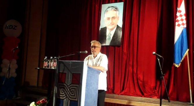 Izbori 2016: Imotski, govor predstavnika HDS-a prof. dr.sc. Gorana Dodiga