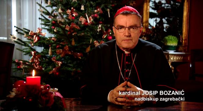Božićna poruka nadbiskupa zagrebačkog kardinala Josipa Bozanića
