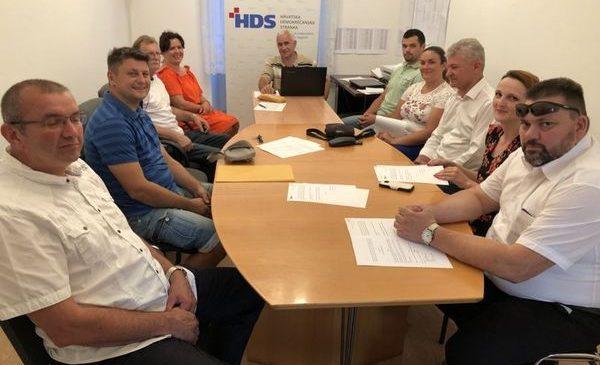 Sjednica Predsjedništva HDS-a Koprivničko-križevačke županije
