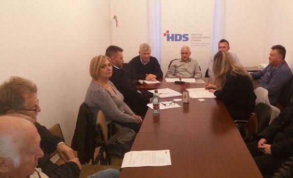 Sjednica Predsjedništva Podružnice HDS Koprivničko-križevačke županije u Križevcima