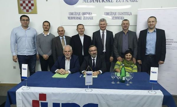 Održan odbor HDS-a podružnice za Međimursku županiju
