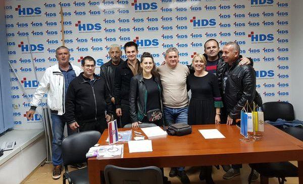 Sjednica Predsjedništva Podružnice HDS-e Splitsko – dalmatinske županije u Splitu
