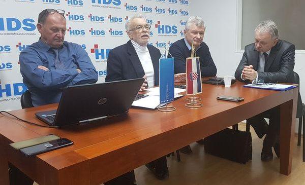 HDS ide na EU izbore, otvoren za suradnju sa srodnim svjetonazorima