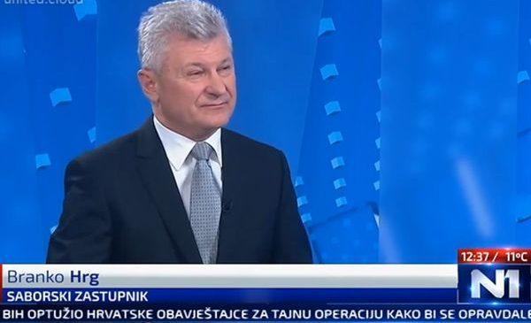 Branko Hrg na N1 TV analizira stanje u Republici Hrvatskoj
