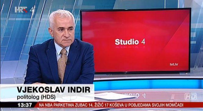 Vjekoslav Indir gostovao u emisiji Studio 4