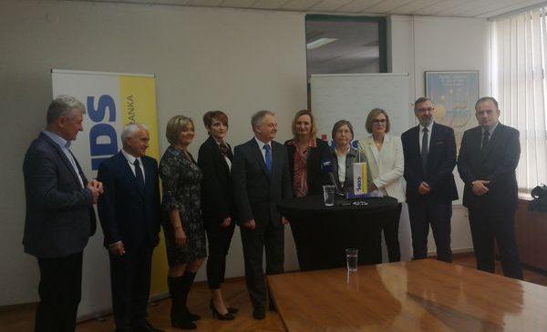 Hrvatska demokršćanska stranka predstavila kandidate za EU izbore