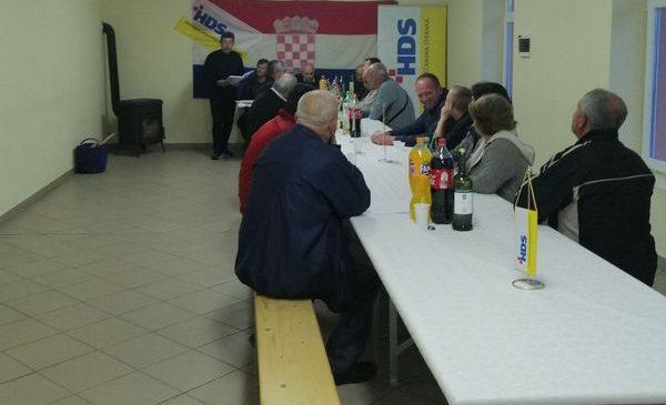 Izvještajni sabor ogranka HDS a Zbjeg