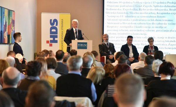 Održan Izvještajni Sabor HDS-a i proslavljene obljetnice hrvatskih demokršćana