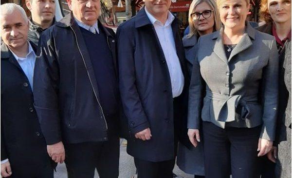 Potpora predsjednici Kolindi Grabar Kitarović kao i prije pet godina