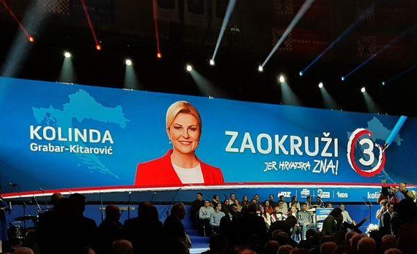 Vodstvo HDS-a podržalo kandidaturu predsjednice Kolinde Grabar-Kitarović