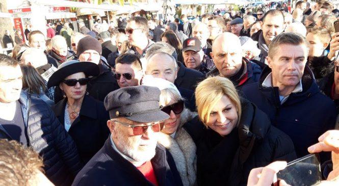 Predsjednica Kolinda Grabar Kitarović u Splitu
