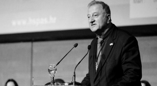 U 68. GODINI PREMINUO ANTO KOVAČEVIĆ, DUGOGODIŠNJI PREDSJEDNIK HRVATSKE KRŠĆANSKE DEMOKRATSKE UNIJE